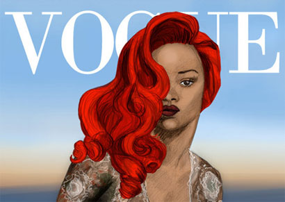 Rihanna Illustration by Quaymberley Dudley